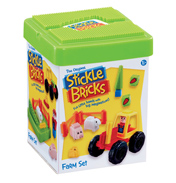 The Original Stickle Bricks Farm Set