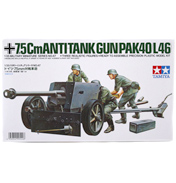 Tamiya 75mm German Anti-Tank Gun Model Set (Scale…