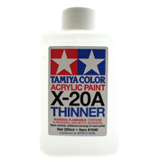 Tamiya X Acrylic Paint Thinner X-20A 250ml