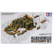 Tamiya Allied Vehicles Model Accessory Set (Scale…