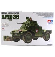 Tamiya AMD35 French Armored Car (Scale 1:35)