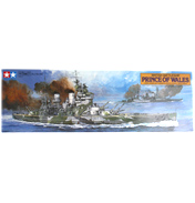 British Battleship Prince of Wales (Scale 1:350)
