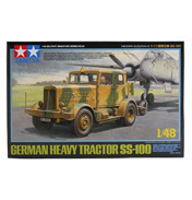 German Heavy Tractor SS-100 (Scale 1:48)