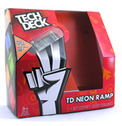 Tech Deck Big Neon Double Bank Ramp