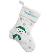 My First Snowman Stocking