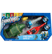 Thunderbirds Vehicle Super Set (4 Piece)