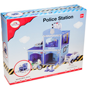 Wooden Police Station Playset