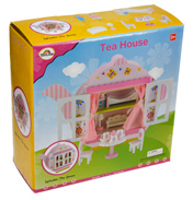 Wooden Teapot House Playset