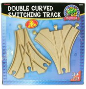 Double Curved Switching Track