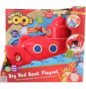 Twirlywoos BIG Red Boat Playset