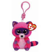 Ty Keyring Beanie Boos Roxie the Raccoon