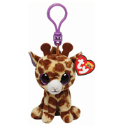 Ty Keyring Beanie Boos Safari The Giraffe