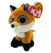 Ty Keyring Beanie Boos Slick the Fox