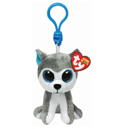 Ty Keyring Beanie Boos Slush the Dog