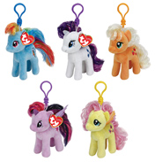 Ty My Little Pony Keyclip Plush TWILIGHT SPARKLE