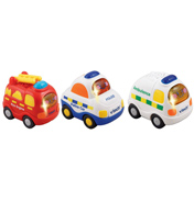 Vtech Toot-Toot Driver Emergency Vehicles 3 Pack