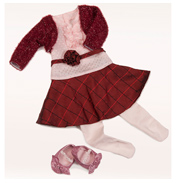 Our Generation Well Red Dolls Outfit