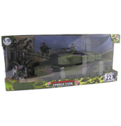 World Peacekeepers Combat Tank with Figures & Accessories
