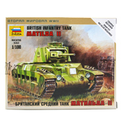 British Infantry Tank Matilda II (Scale 1:100)