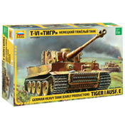 German Heavy Tank Tiger I Ausf. E (Early Production) (Scale 1:35)